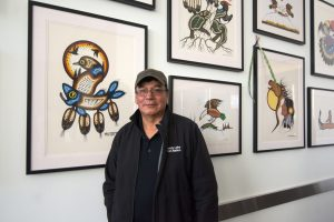 Wally Kakepetum, Artist